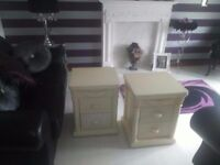 BEDSIDE DRAWERS (£15 EACH)