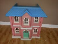 Vintage Little Tikes very large dolls house