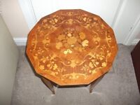 Ornate musical occasional table