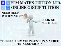 Maths Tuition/Maths Tutor - Group (online) and 1-2-1 (face-to-face) available