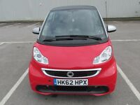 Smart fortwo coupe diesel,FSH,£0 tax