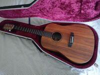 Martin DXK2AE Hawaiian Koa - inc Hiscox Hard case