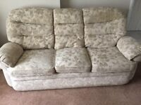 3 & 2 seater sofa set for sale (excellent condition)