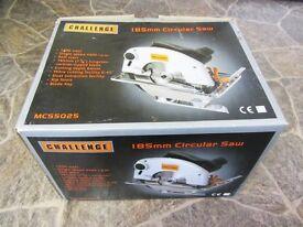 Challenge, 185mm Circular Saw, 1200 watt, soft start, Single Speed 4500 rpm