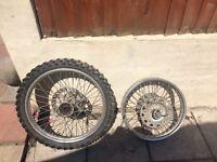 Ttr 250cc wheels 2003
