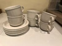 HABITAT 'Bianca White' 12 piece tea set