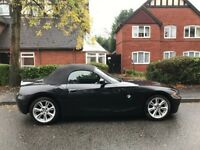 BMW Z4 convertible 2 seater 2005