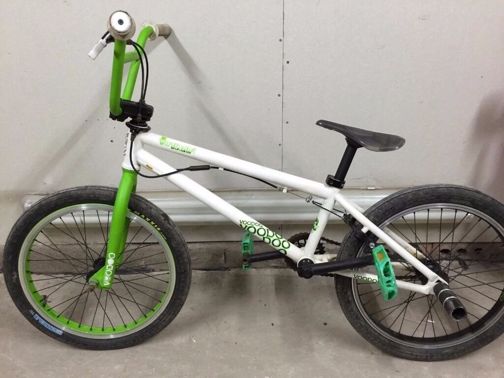 Voodoo Nzumbi Bmx Bike 20 Inch Wheels Good Condition