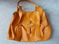 Radley leather medium flapover handbag