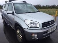 SALE! Bargain trade in to clear, Toyota Rav 4 4x4 long MOT ready to go