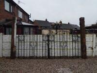 Wrought iron gates / Driveway gates / Garden gates / Steel gates / Metal gates / Double house gates