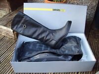 Bargain, Italian leather riding style boots