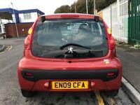 2009 (09 reg) Peugeot 107 1.0 12v Verve 5dr Hatchback Petrol Super Low Miles