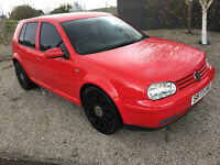 vw golf gti 1.8 new MOT 2017 - service history - very good driver not r32 type r st rs