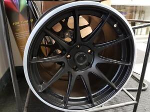 xxr 527 STYLE 17x9 5x114.3 +28matt black clearance, 2 set in stock