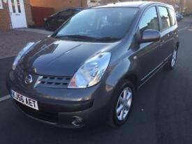 ****P/X TO CLEAR *** 2006 NISSAN NOTE SE 1.4 PETROL LOW MILEAGE FULL 12 MONTHS MOT