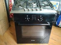 Silver Hob and Oven