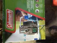 Coleman portable water heater new