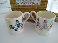 EMMA BRIDGEWATER ROOSTER MUGS CHICKENS BRAND NEW UNUSED