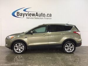 2014 Ford ESCAPE TITANIUM- ECOBOOST PANOROOF HTD LTHR SONY BLIS!