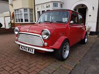 Classic rover mini spi recently resprayed, heritage panels, custom arches, new interior