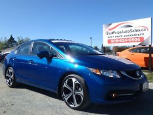 2015 Honda Civic Si !!! SUNROOF!! CERTIFIED!!