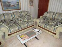 3 piece suite 6 seater