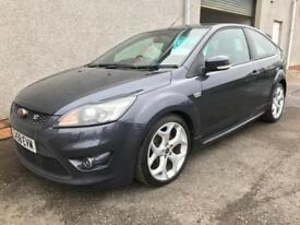 FORD FOCUS ST2 , 2008/58 REG ** FINANCE AVAILABLE ** LOW MILES + HISTORY ** LONG MOT , WARRANTY