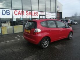 2010 10 HONDA JAZZ 1.3 I-VTEC SI 5D 98 BHP**** GUARANTEED FINANCE **** PART EX WELCOME