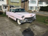 Elvis 1955 Pink Cadillac