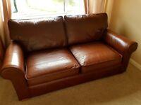 Next leather sofa.. excellent condition