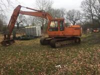 Hitachi 13 ton digger excavator