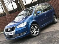 **AUTOMATIC** VOLKSWAGEN TOURAN 2.0 TDI 7 SEATER 12 MONTH MOT FULL SERVICE HISTORY