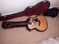 Taylor 314 CE ES 2, 2016,GA, Electro-Acoustic Guitar