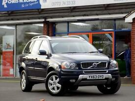 VOLVO XC90 2.4 D5 ES AWD 5dr AUTO 200 BHP * Full Leather * ** (blue) 2013
