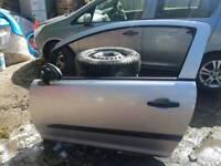 Vauxhall Corsa D 3 door - passenger side door in Z157