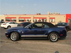 2012 Ford Mustang V6 PREMIUM**CONVERTIBLE**LEATHER**HEATED SEATS