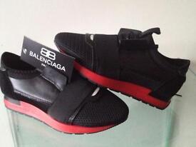 WOMEN'S BALENCIAGA'S BLACK &RED