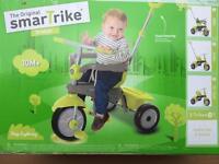 Smart Trike Breeze Trike - Green and Grey. NEW . NEW SHAPE