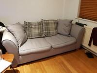 3 seater DFS sofa bed