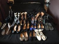 Ladies size 5 shoe bundle