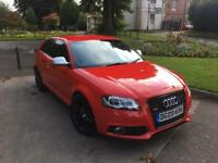 AUDI A3 2.0 TFSI S LINE QUATTRO S TRONIC 260BHP 3 DOOR FACELIFT FULLY LOADED S3 REPLICA (GTI R32 RS)