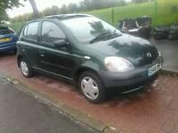 Toyota Yaris 1.0 petrol low miles 80k cheap insurance L@@k not golf audi bmw seat vrs st vxr gti !!