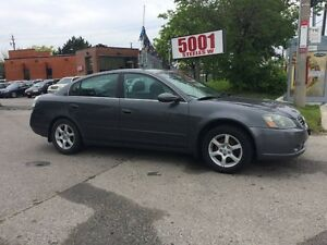 2005 Nissan Altima AUTO,185KM,SAFETY+3YEARS WARRANTY INCLUDED