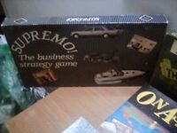 Selection of vintage board games all complete with instructions. Excellent condition some like new