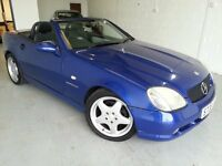 Mercedes 230 SLK Automatic Low Miles with Service History.