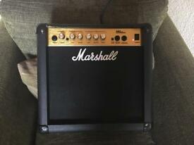 Marshall practice amp for guitar