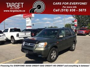 2006 Honda Pilot EX-L, Loaded, Leather, Roof, 8-Pass and More !!