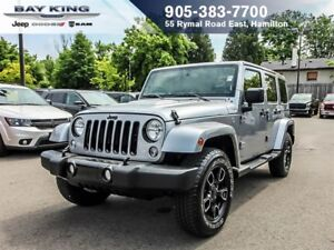 2018 Jeep Wrangler ALTITUDE, 4X4, GPS NAV, BLUETOOTH, LEATHER IN