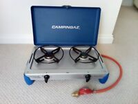 Camping 2 burner Gaz cooker in excellent condition